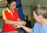 Ruth Srisuan and Bryan Bishop in Thailand