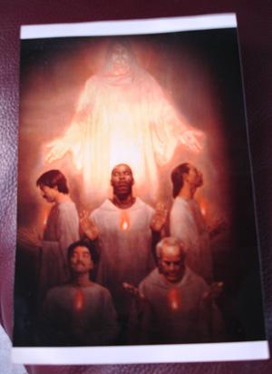 Monk Photo of Jesus