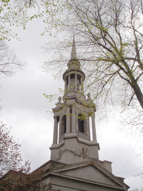 St Paul's Shadwell Steeple